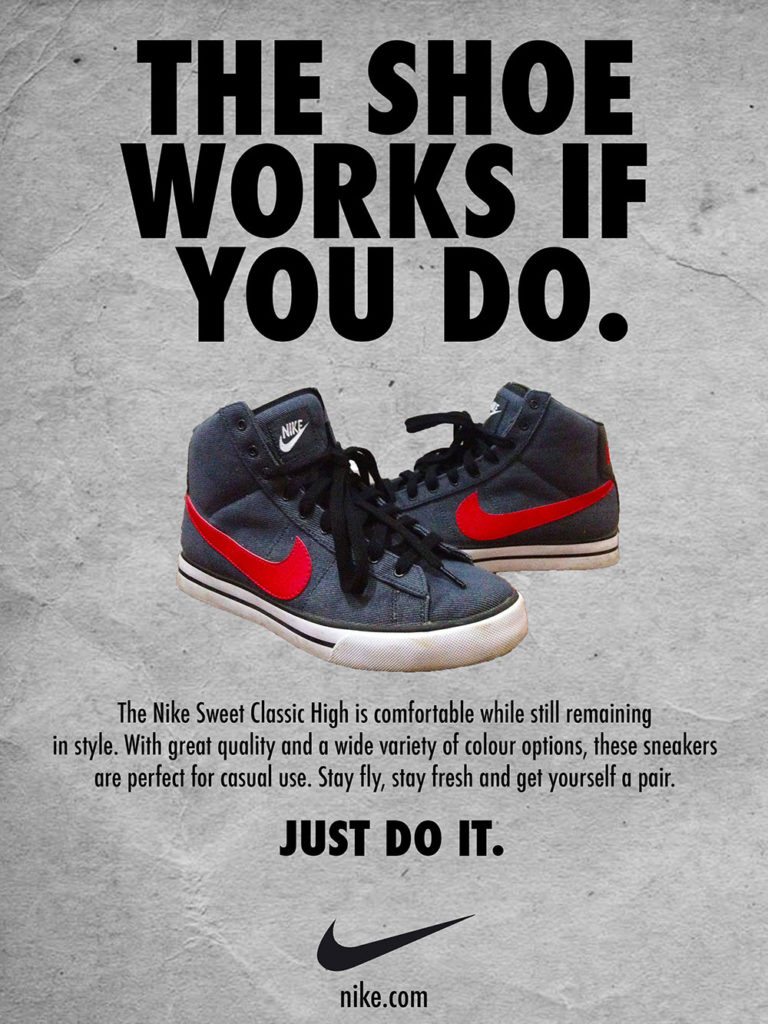 NIke Just Do It Ad